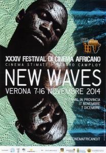 Locandina 34° festival del cinema africano