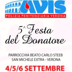 4-6 settembre: Festa del donatore al Beato Steeb