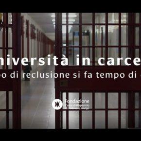 """Il progetto di Fraternità """"Scuola superiore ed università"""" in carcere"""
